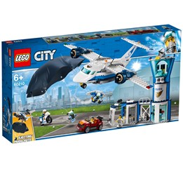 LEGO City Police 60210, Politiets flybase