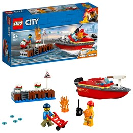 LEGO City Fire 60213, Havnebrann
