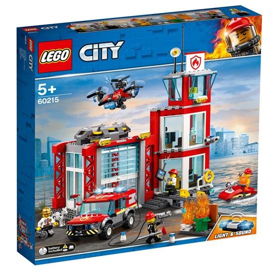 LEGO City Fire 60215, Brannstasjon