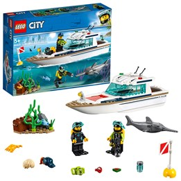 LEGO City Great Vehicles 60221, Dykkerbåt