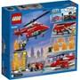 LEGO City Fire 60281, Brannhelikopter