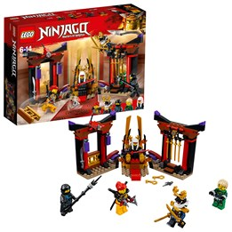 LEGO Ninjago 70651, Oppgjør i tronsalen
