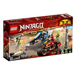 LEGO Ninjago 70667, Kais knivracer og Zanes snøscooter