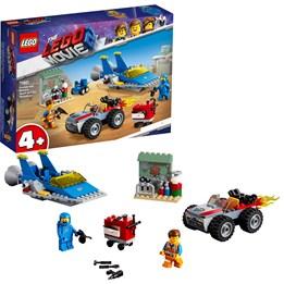 LEGO The Movie 70821, Emmet og Bennys «Bygg og reparer»-verksted!