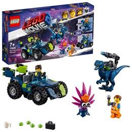 LEGO The Movie 70826, Rex' Rex-treme offroader!