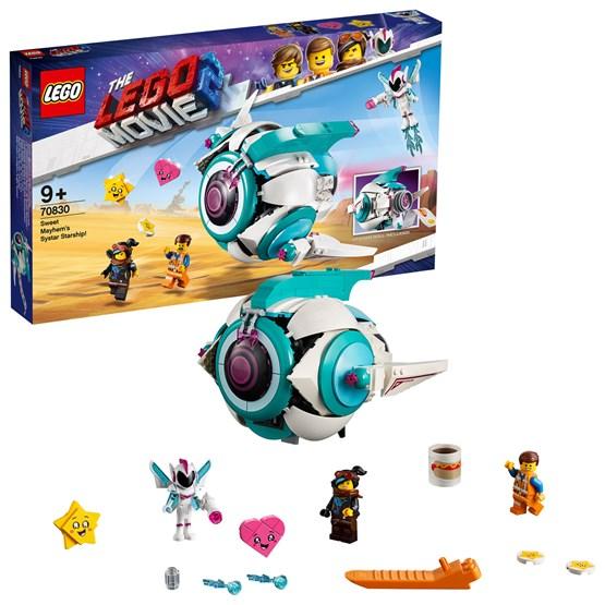 LEGO The Movie 70830, Sweet Mayhems Systar-stjerneskip!