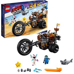 LEGO The Movie 70834, Knivskjeggs metalltrehjuling!