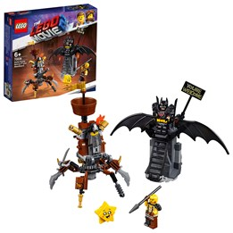 LEGO The Movie 70836, Kampklare Batman og Knivskjegg