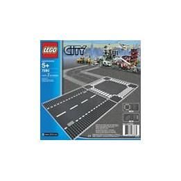 LEGO City 7280, Rett Vei Og Kryss