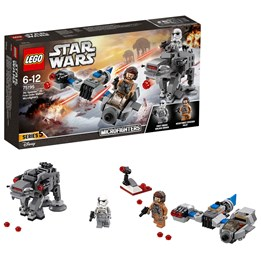 LEGO Star Wars 75195, Skispeeder mot First Order Walker™ Microfighters