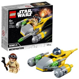 LEGO Star Wars 75223, Naboo Starfighter Microfighter