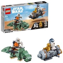 LEGO Star Wars 75228, Rømningskapsel mot Dewback Microfighters