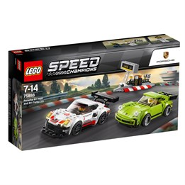 LEGO Speed Champions 75888, Porsche 911 RSR og 911 Turbo 3.0