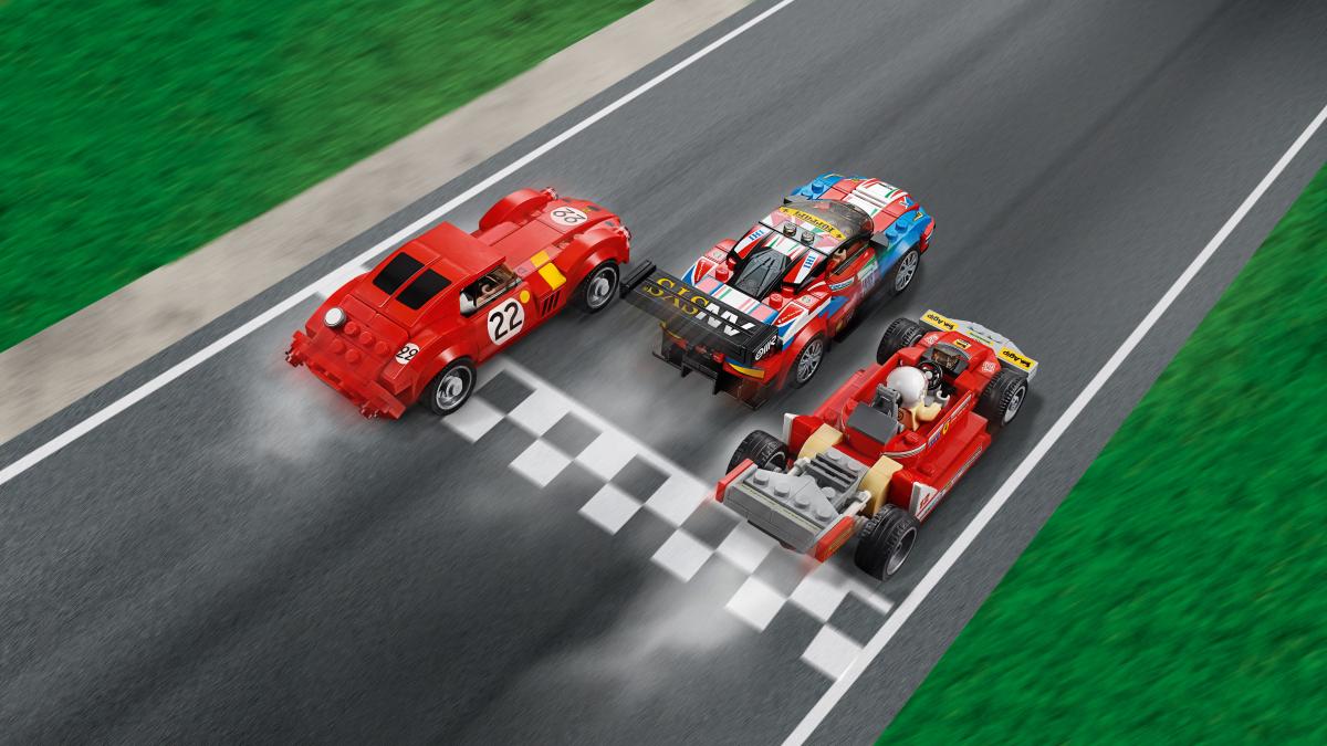 LEGO Speed Champions 75889, Ferrari Ultimate Garage - Lekia.no