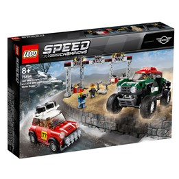 LEGO Speed Champions 75894, 1967 Mini Cooper S rally og 2018 MINI John Cooper Works Buggy
