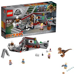 LEGO Jurassic World 75932, 75932, Park Velociraptor Jakt