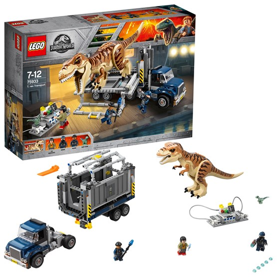 LEGO Jurassic World 75933, 75933, T. Rex Transport