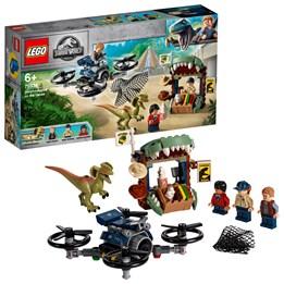 LEGO Jurassic World 75934 - Dilophosaurus på frifot