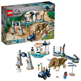 LEGO Jurassic World 75937 - Triceratops på tokt