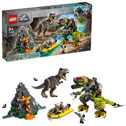 LEGO Jurassic World 75938 - T. rex i kamp mot Dino-robot