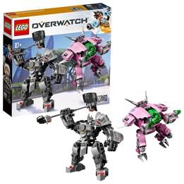 LEGO Overwatch 75973, D.Va & Reinhardt