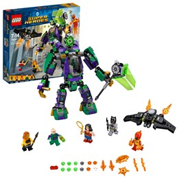 LEGO Super Heroes 76097, Kamp mot Lex Luthor™ roboten