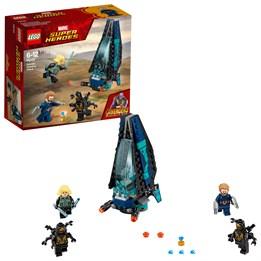 LEGO Super Heroes 76101, Angrep fra Outrider-romskip
