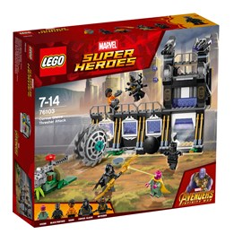 LEGO Super Heroes 76103, Corvus Glaives treskerangrep