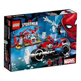 LEGO Super Heroes 76113, Spider-Mans redningstokt på to hjul