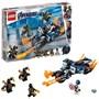 LEGO Super Heroes 76123, Captain America: Outrider-angrep