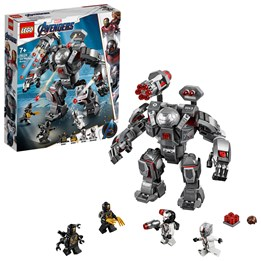LEGO Super Heroes 76124, War Machine-knuseren