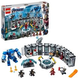 LEGO Super Heroes 76125, Iron Mans våpensal