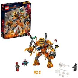 LEGO Super Heroes 76128 - Molten Man i kamp