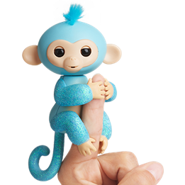 Fingerlings, Monkey Glitter Amelia