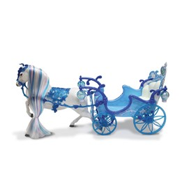 Hest med vogn, Vinter Paradis