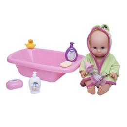 H&H - Isabella dukke med badekar