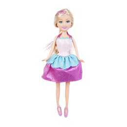 Sparkle, Dukke i kremmerhus, prinsesse, turkis og rosa