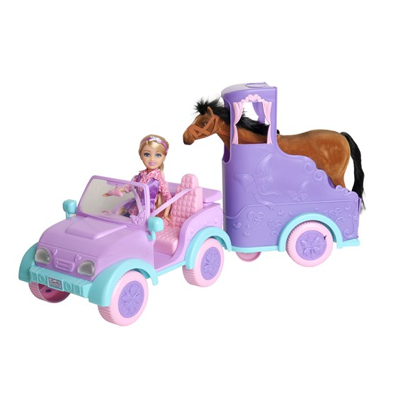 Sparkle, Hestetransport med dukke