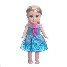 Sparkle Girlz, Prinsessedukke 33 cm - blå/hvit