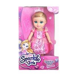 Sparkle Girlz, Prinsessedukke 33 cm - rosa/lilla