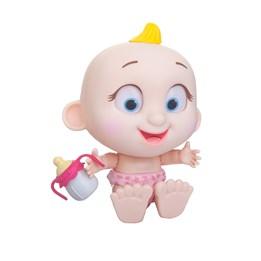 Tiny Tots, Interaktiv Dukke med lyd - Rosa