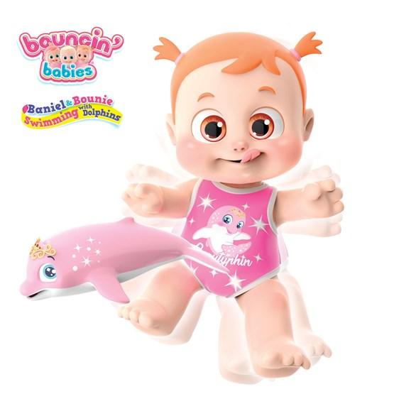 Bouncing Babies, Svømme med Delfin