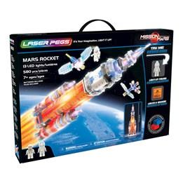 Laser Pegs, Mission Mars Rocket med lyd og lys