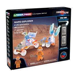 Laser Pegs, Mission Mars Explorer