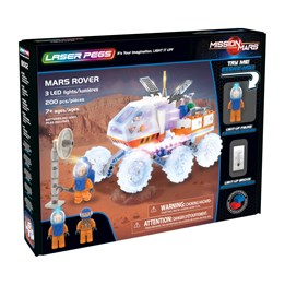 Laser Pegs, Mission Mars Rover