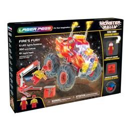 Laser Pegs, Monster Rally lyd og lys