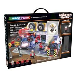 Laser Pegs, Monster Rally Garasje med lyd og lys