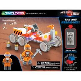 Laser Pegs, Mission to Mars Hauler 103 deler