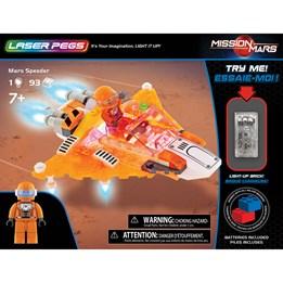 Laser Pegs, Mission to Mars Speeder 93 deler