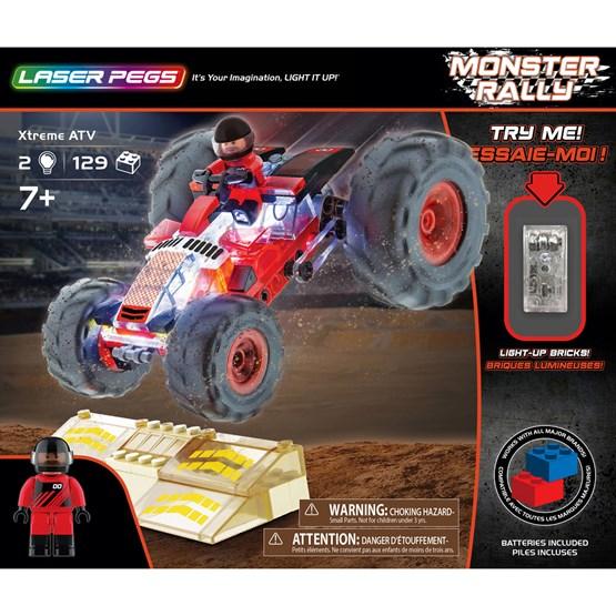Laser Pegs, Monster Rally X-treme ATV 129 deler